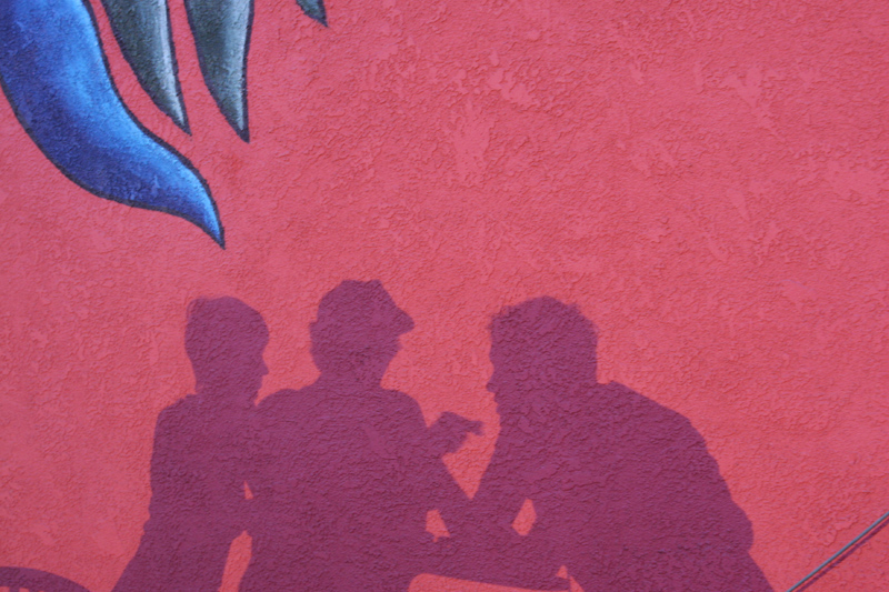 El Chavo Shadows © Paula L. Combs 2009