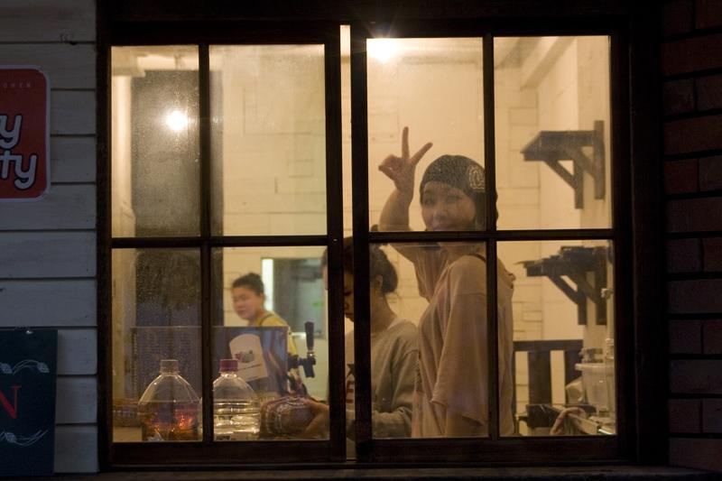 Window Peace © Paula L. Combs
